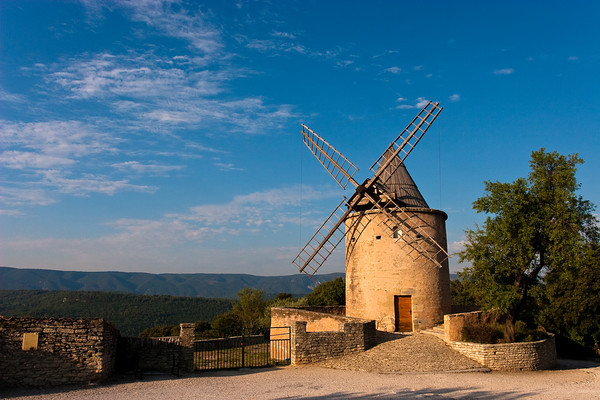 Wing mill from Goult, Provence, France.
