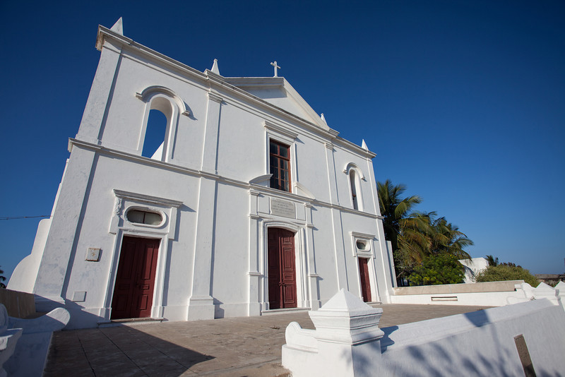 Cathedral of Ilha de Moçambique, Mozambique.