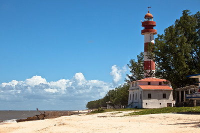 Macuti lighthouse, Beira, Mozambique.