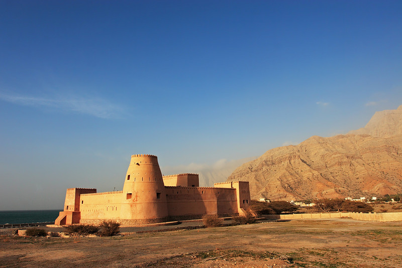 Bukha castle, Musandam, Sultanate of Oman.