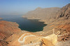 Landscape from the Musandam province, Sultanate of Oman.