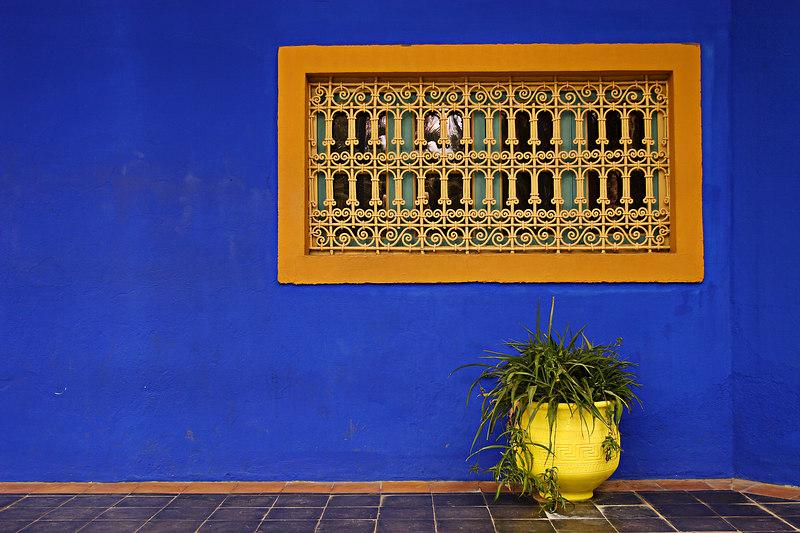 Villa Majorelle, Marrakech, Morocco.