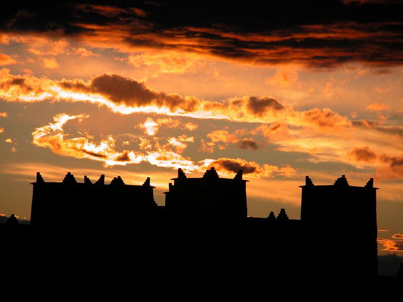 Skoura sunset, Morocco.