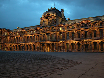 Louvre museum, Paris, France.