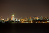 Maputo skyline at night from Catembe, Mozambique.
